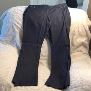 EUC New York & Company dress pants, Navy blue 14